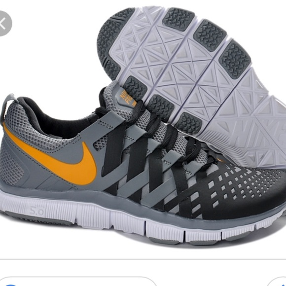 low priced 7cf16 16754 ... 🆕🎉Nike Free Trainer 5.0 Woven Wolf Grey Black👟 ...